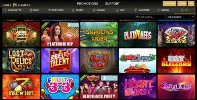 fable casino screenshot