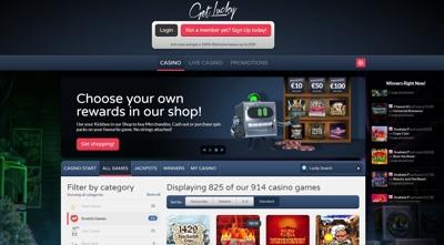 get lucky casino screenshot