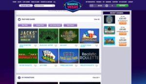 Magical Vegas Screenshot