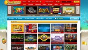 play sunny casino screenshot
