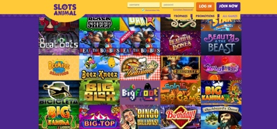 slots animal casino screenshot