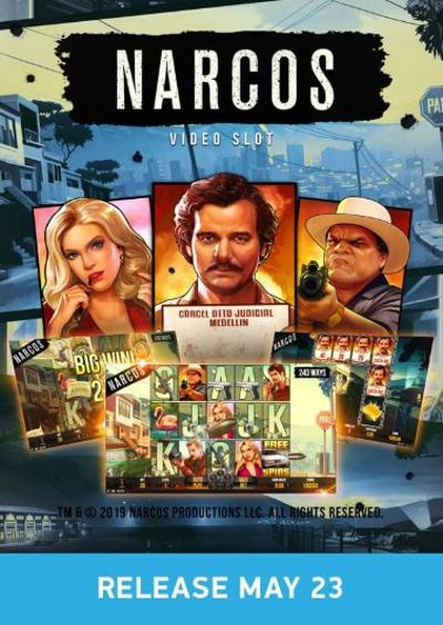 Narcos NetEnt Poster