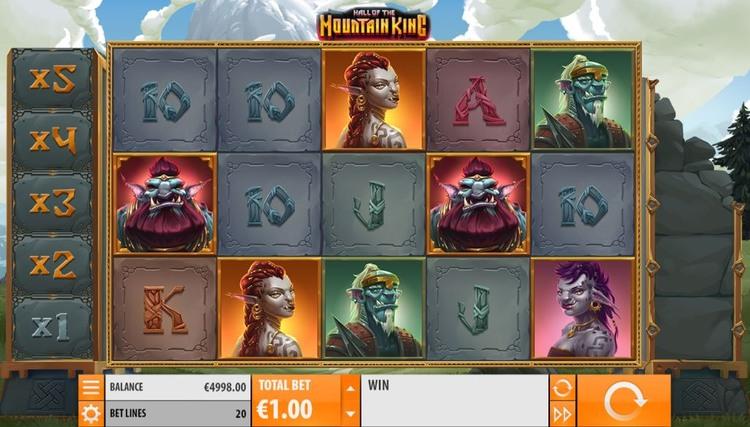Hall of the Mountain King Screenshot