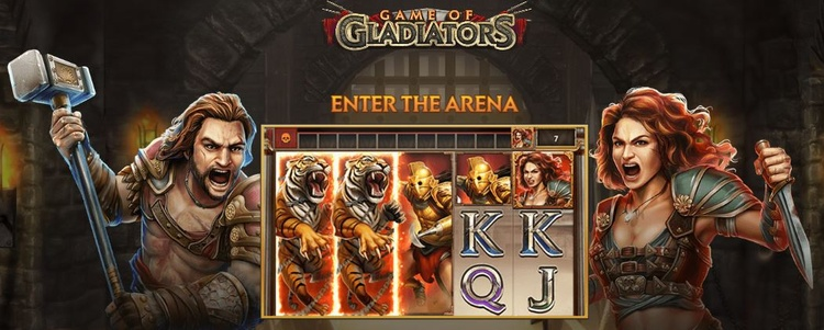 Game of Gladiators Opening