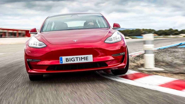 Win a Brand New Tesla Model 3 with Big Time Gaming