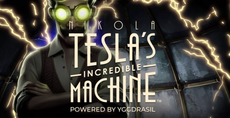 Nikolas Teslas Incredible Machine Logo