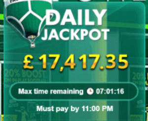 timed jackpot