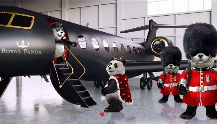 Royal Panda Exit