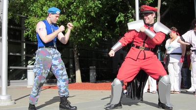 M. Bison at Fan Convention