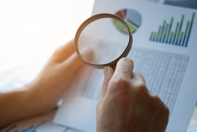 Magnifying Glass Business Records