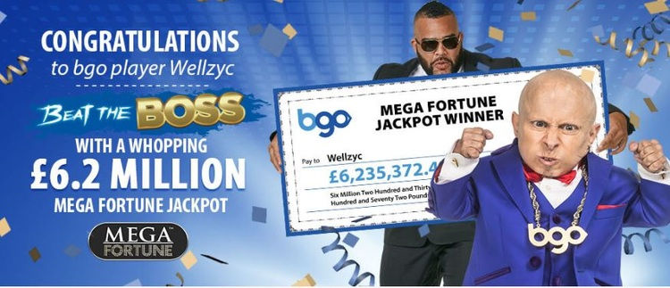 BGO Jackpot Win