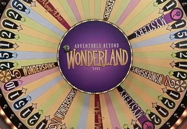Adventures Beyond Wonderland Live by Playtech