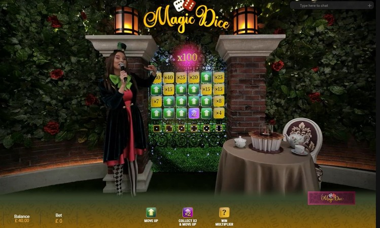 Adventures Beyond Wonderland Live Magic Dice