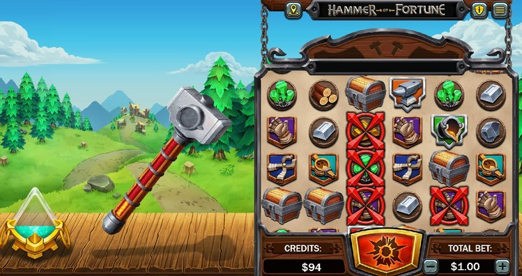 Hammer of Fortune Slot