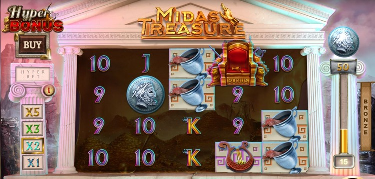 Midas Treasure Collection Symbols