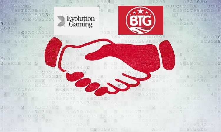 Evolution Deal with Big Time Gaming