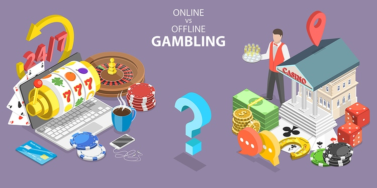 Online vs Offline Casino