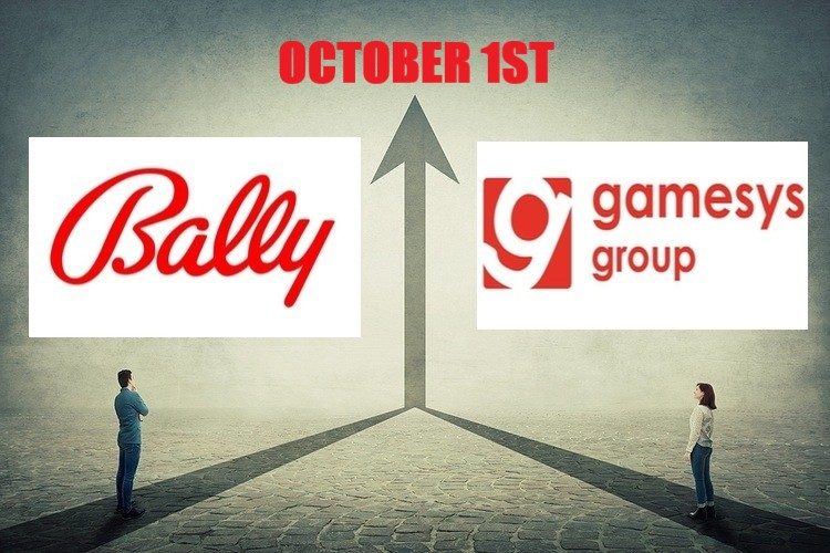 Bally's Acquire Gamesys as of October 1st